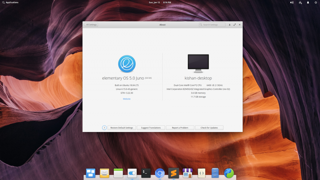 How to Install Mac OS X theme on Elementary os 5 0 Juno - Vision of geek